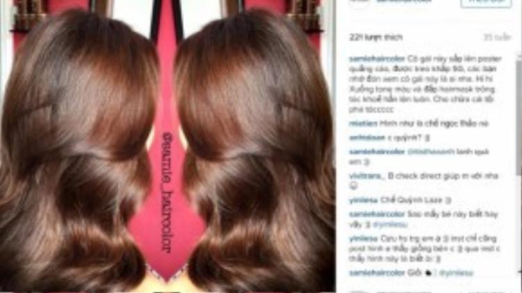 Mái tóc với màu nhuộm chuẩn và đạt được độ bồng bềnh nhất định là mơ ước của rất nhiều tín đồ mê làm đẹp.