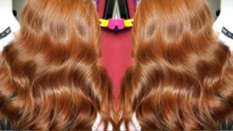 Từ những màu tóc quen thuộc…