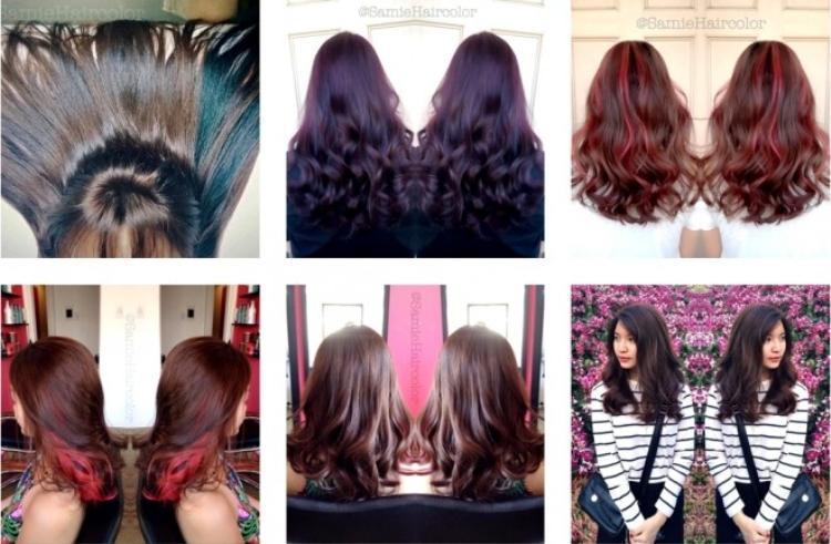 50 sắc thái tóc của những cô gái Sài Gòn sành điệu
