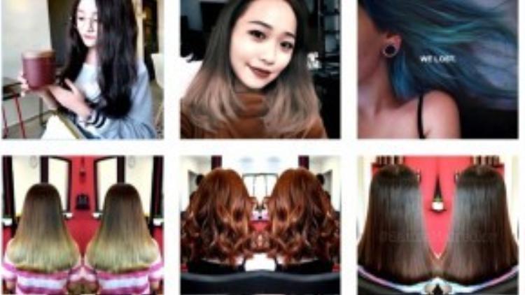 Nếu bạn là một fan làm đẹp chính hiệu, đừng bao giờ quên follow trang Instagram của samiehaircolor. Đây là nơi mà bạn được sống trong tóc thật sự với vô vàn thứ truyền cảm hứng cho bạn.