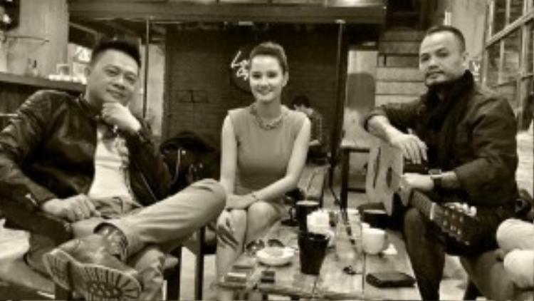 MC Quang Minh và ca sĩ Trần Lập có chung nhiều sở thích.
