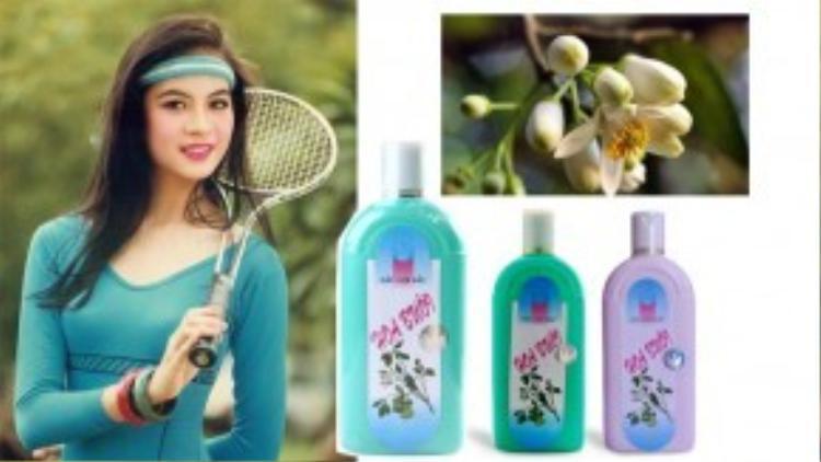 Chiết xuất tinh chất hoa bưởi giúp ngăn ngừa rụng tóc và trị gàu là một trong các tính năng nổi trội của loại dầu gội hoa bưởi, với gia vô cùng hạt dẻ tầm 38.000 VND.