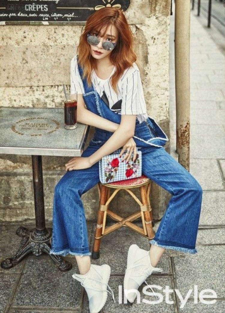 Kim Ji Won  Jin Goo đẹp đôi và sành điệu trên tạp chí thời trang