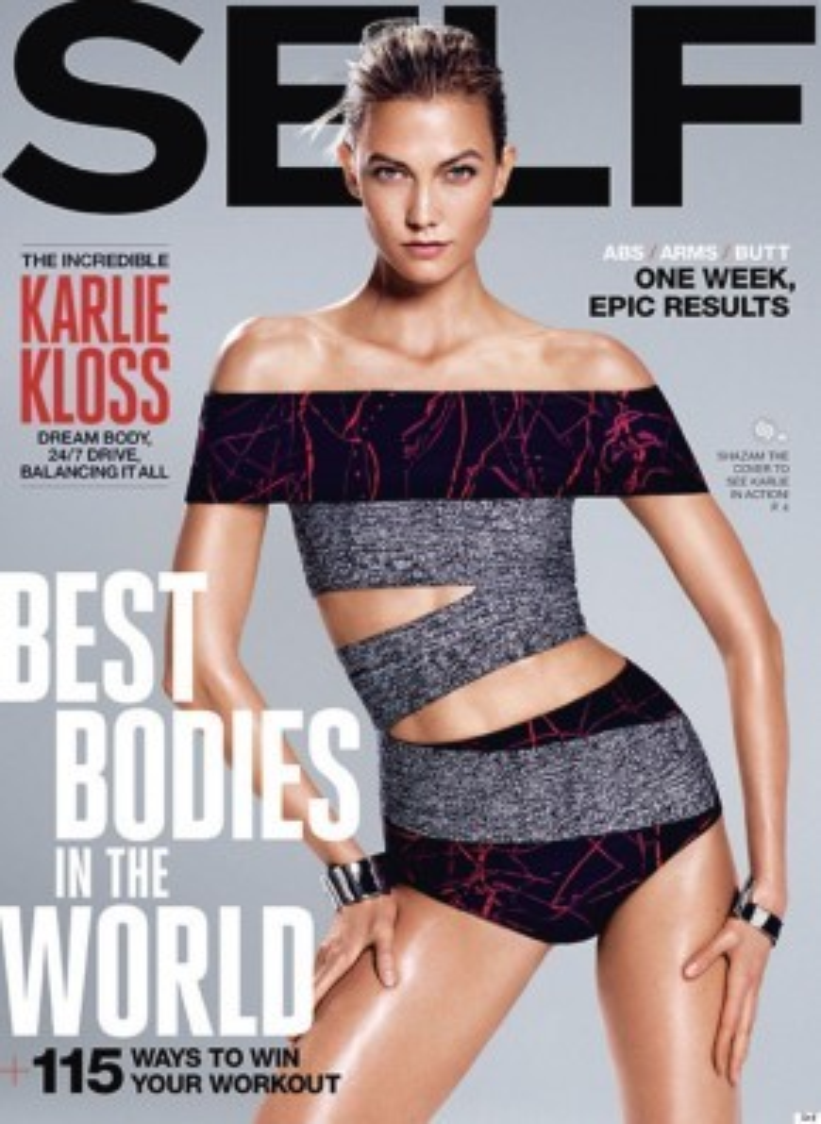 Cô liên tục xuất hiện trên trang bìa hàng loạt tạp chí nổi tiếng.