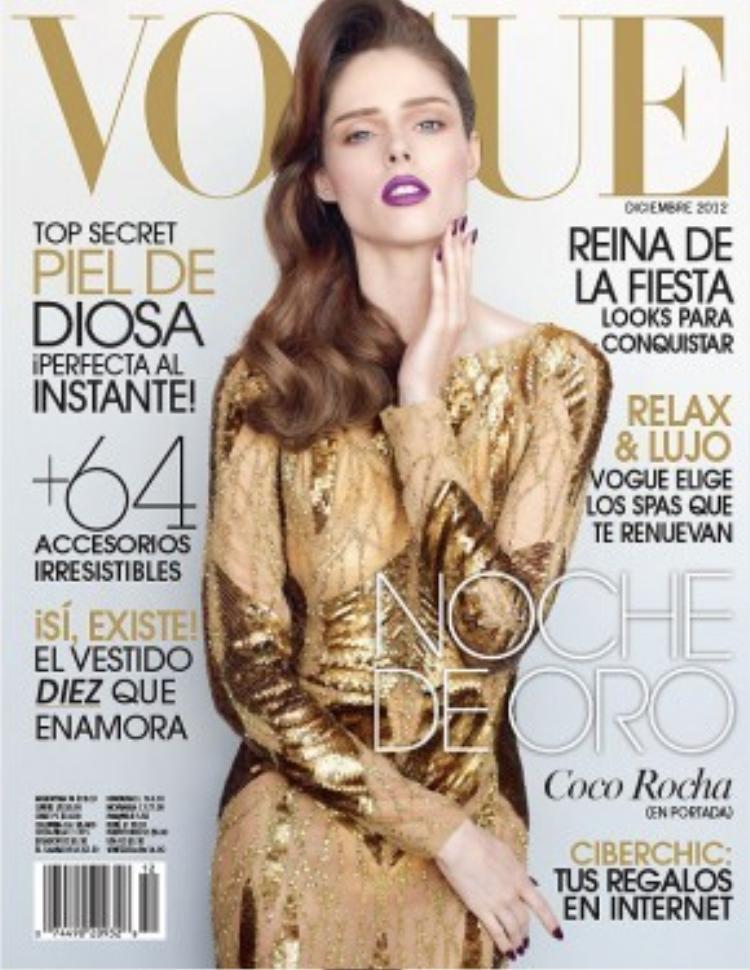 Coco Rocha xuất hiện thường xuyên trên tạp chí danh giá Vogue.