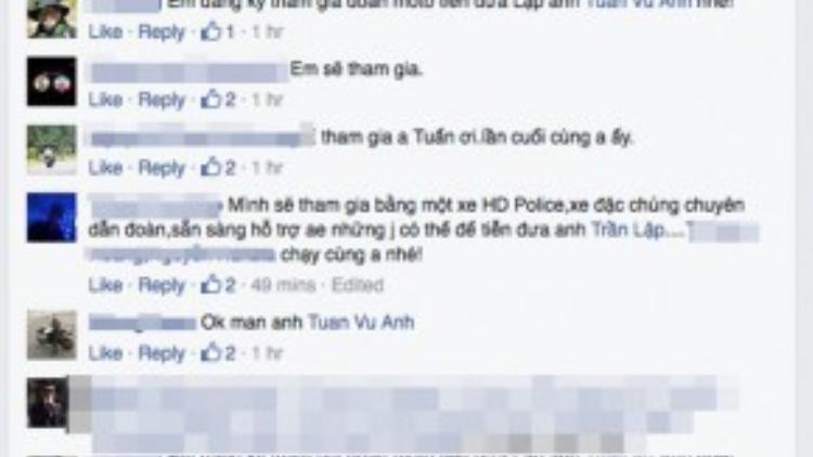 Chia sẻ của MC Anh Tuấn nhanh chóng nhận được sự đồng ý của rất đông mọi người.