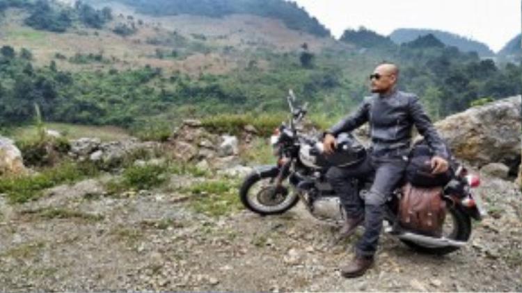 Trần Lập là cái tên không còn quá xa lạ trong giới chơi xe môtô từ miền Bắc đến miền Trung rồi vào Nam.