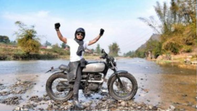 Thủ lĩnh nhóm Bức Tường từng sở hữu tới 7 chiếc xe môtô.