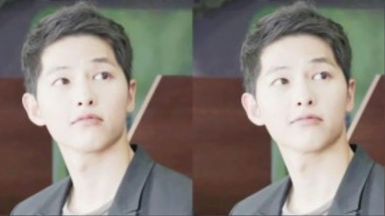 Nhìn hình ảnh này, đố ai đoán được Yoo Shi Jin là đại úy dẫn đầu lực lượng quân đội?