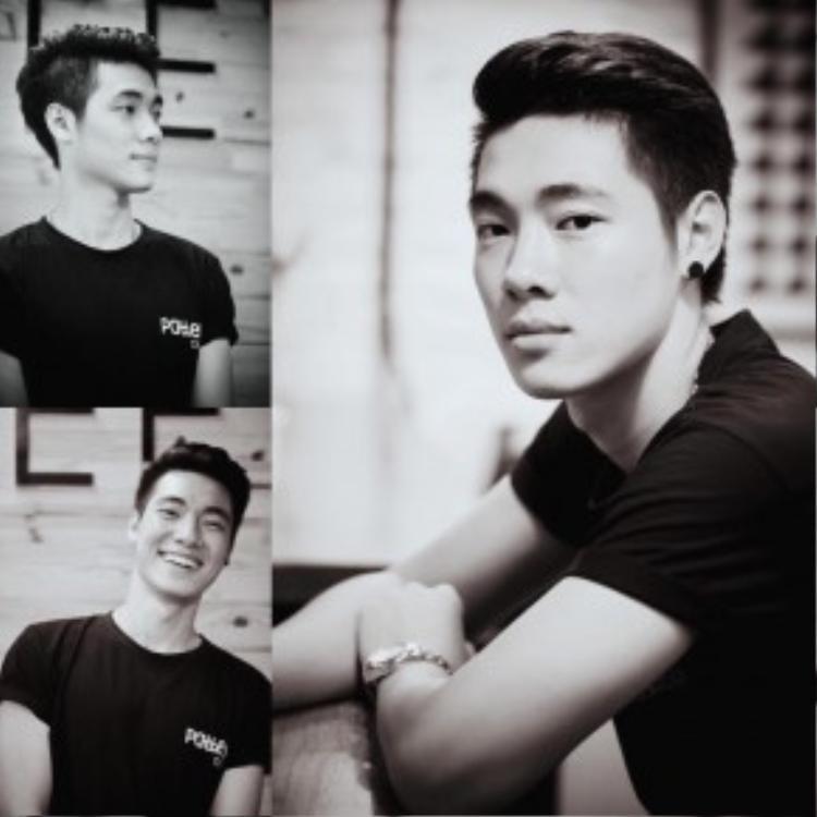 Anh chàng này có nụ cười nhìn hao hao trai đẹp ngoài hành tinh Kim Soo Hyun.
