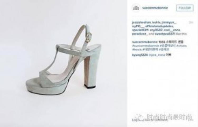Các fan Hàn đang lùng sục đôi giày này để có được sự nữ tính như nữ y tá của Hậu duệ mặt trời.