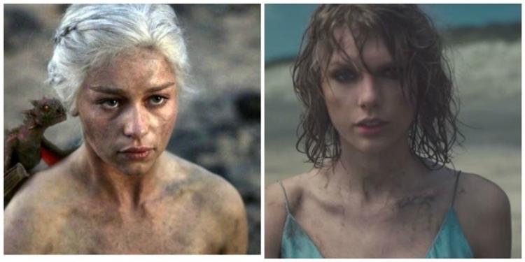 Thời trang của Taylor Swift có bị ám ảnh bởi Mẹ Rồng  Daenerys Targaryen?
