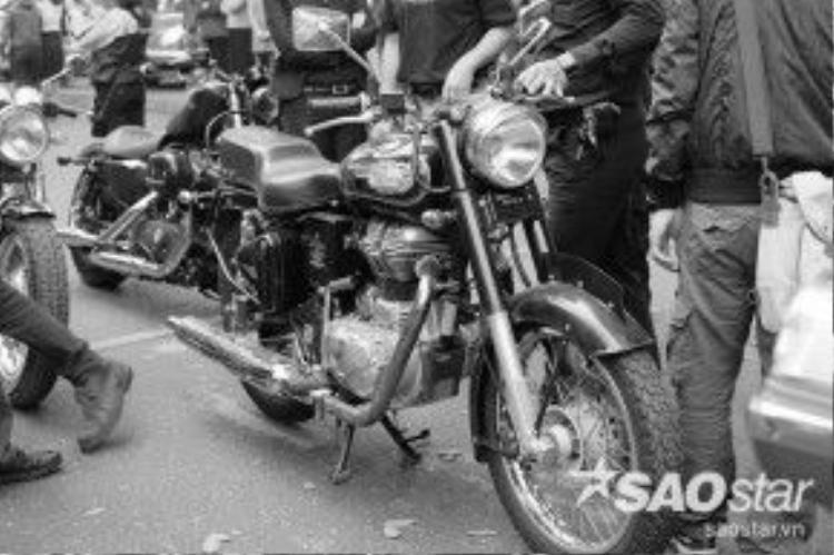 Chiếc xe motor yêu quý đã từng cùng Trần Lập rong ruổi trên nhiều cung đường Tổ quốc.