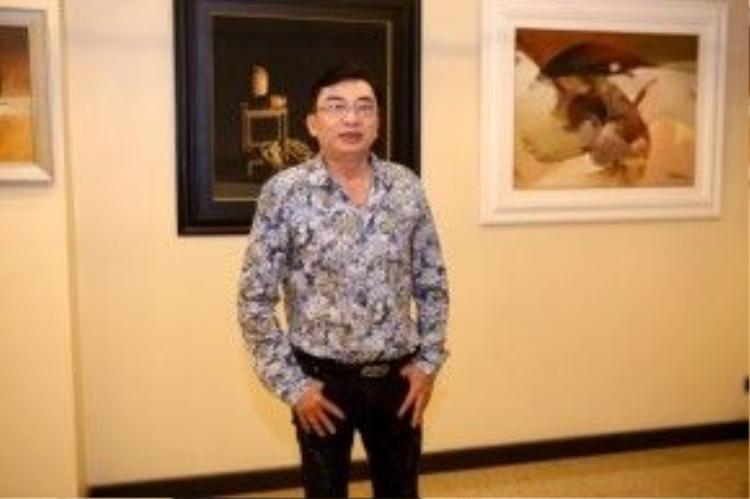 Nhạc sĩ Đình Văn.
