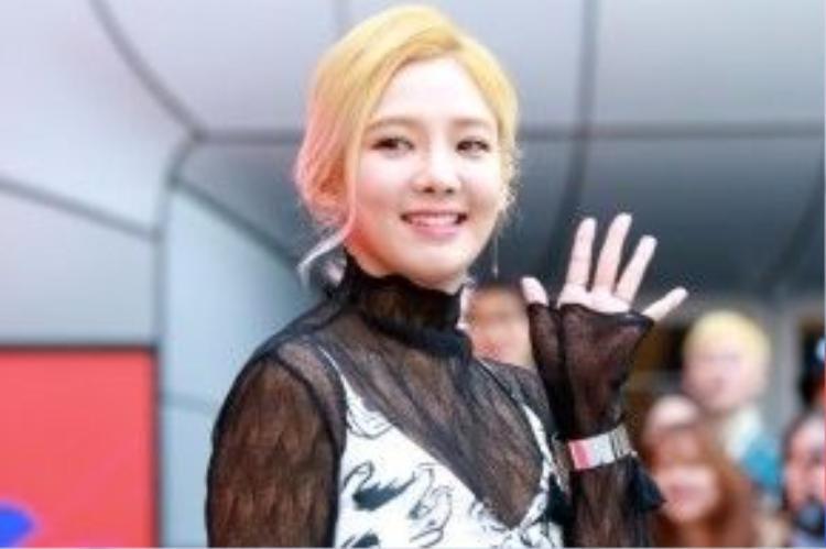 Hyoyeon (SNSD).