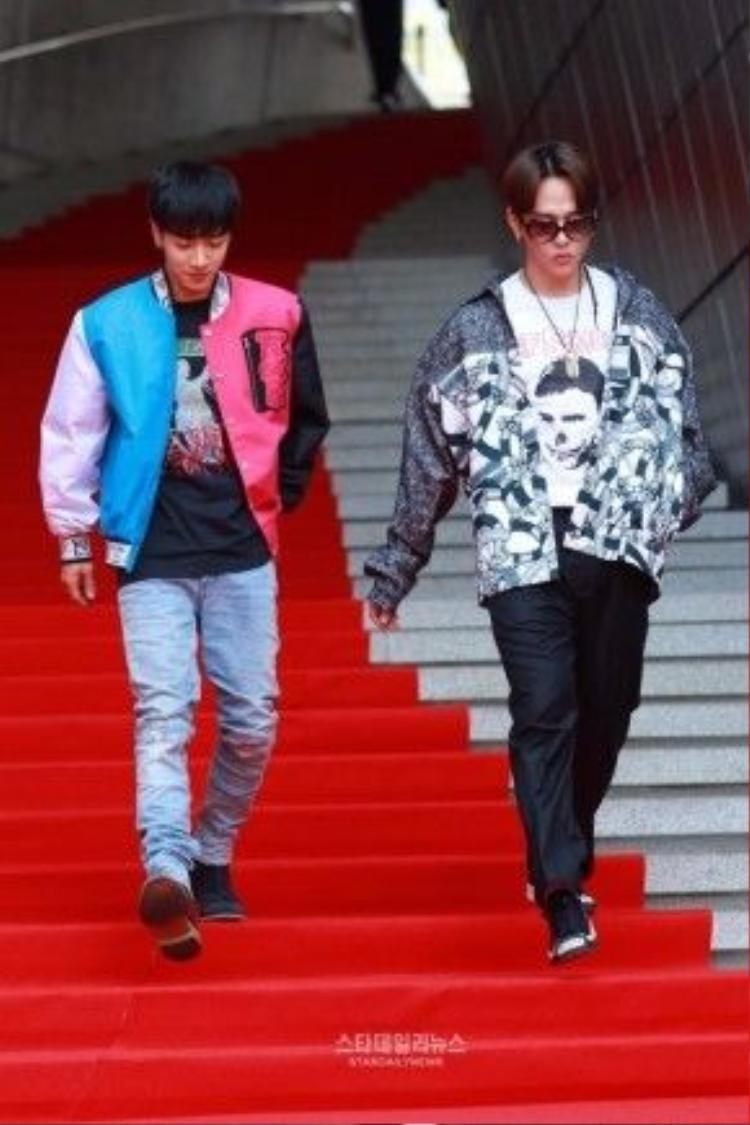 Lee Gi Kwang và Yong Junhyung (BEAST).