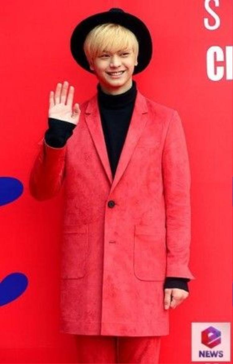 Chàng ca sĩ, diễn viên tài năng Yook Sung Jae của nhóm nhạc nam BTOB.