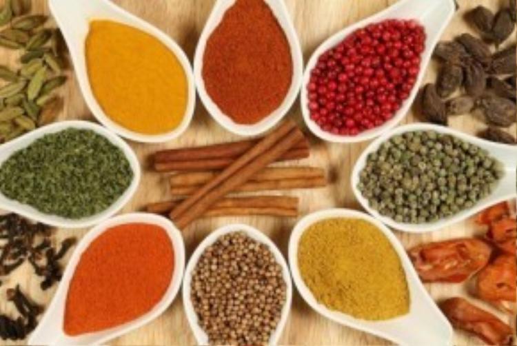 Làm đẹp da từ 5 loại gia vị có sẵn trong bếp.