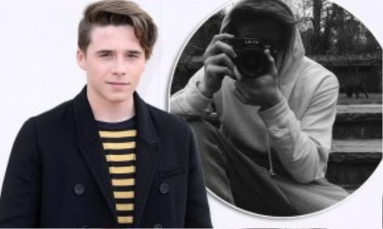 Brooklyn Beckham có đam mê chụp ảnh và thường khoe tác phẩm trên trang cá nhân.