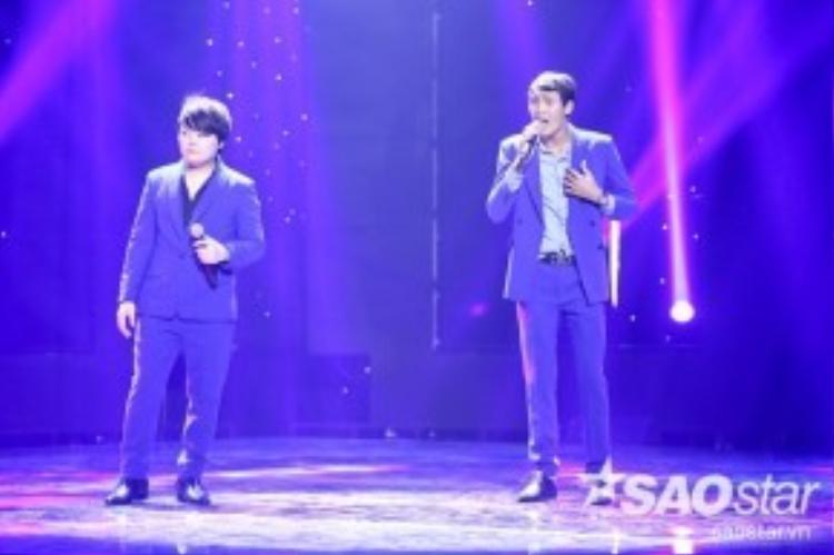 Cặp đôi Mai Trọng Linh và Hoàng Thuận sẽ cùng thể hiện ca khúc Đêm tóc rối.