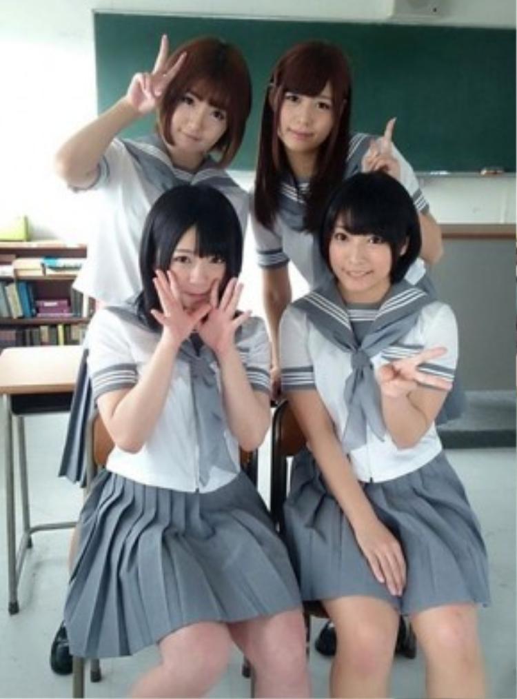 Các sao phim khiêu dâm Nhật Bản.