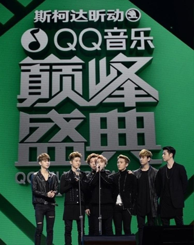 Hàn Quốc chưa đủ, BigBang và iKON tiếp tục bành trướng tại lễ trao giải Trung Quốc