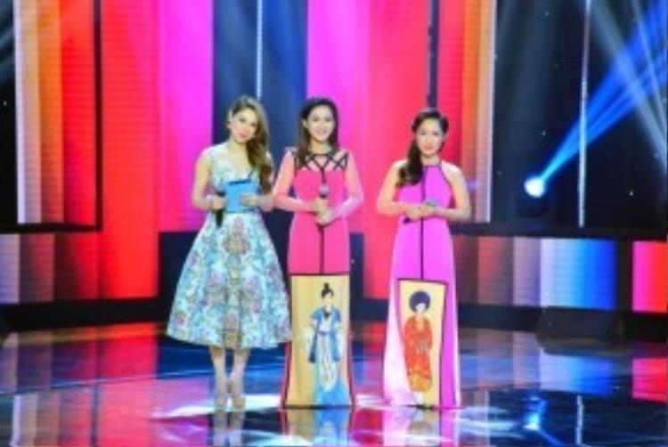Hai thí sinh này sở hữu giọng hát hay và ngoại hình sáng sân khấu.