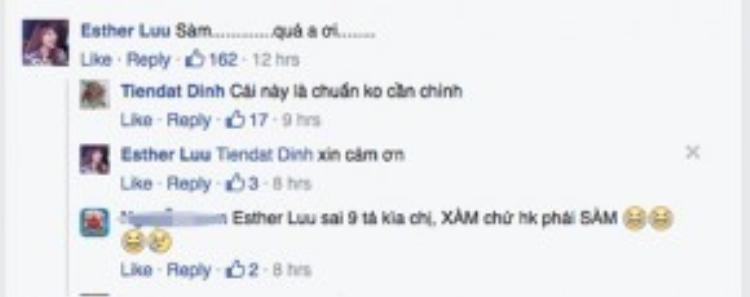 Hari Won cũng hóm hỉnh bình luận trêu Tiến Đạt.