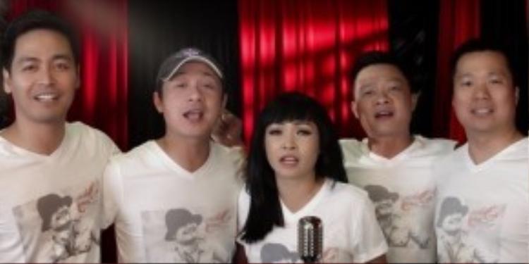 Đông đảo nghệ sĩ góp mặt trong MV tưởng nhớ thủ lĩnh Bức Tường.