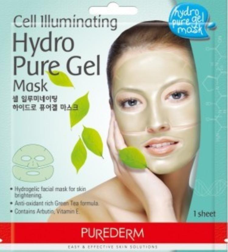 Mặt nạ dạng thạch dẻo có độ đàn hồi cao và mang lại cảm giác mát mẻ cho người dùng