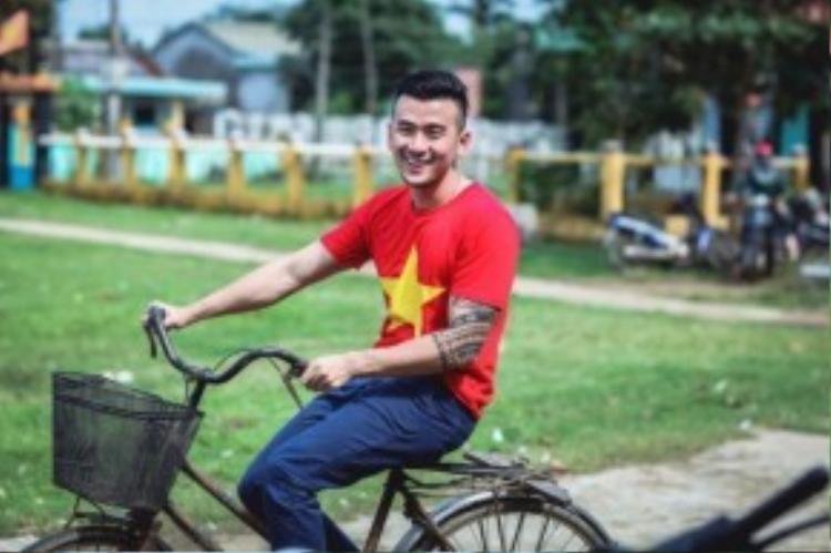 Chàng công dân kiểu mẫu của thành phố Đà Nẵng.