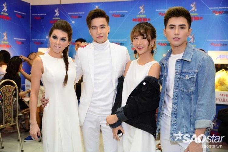 Will tình tứ cùng Quỳnh Anh Shyn đến tận hậu trường để cỗ vũ S.T