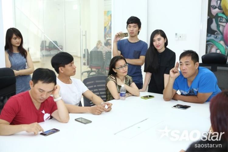 Quang Linh, Đan Trường, Cẩm Ly hội ngộ quậy tưng buổi họp chuẩn bị Liveshow 1