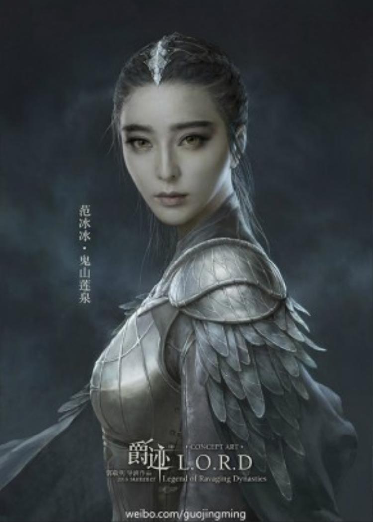 Quỷ Sơn Liên Thần do Phạm Băng Băng đóng là nhân vật đầu tiên được tung trailer.