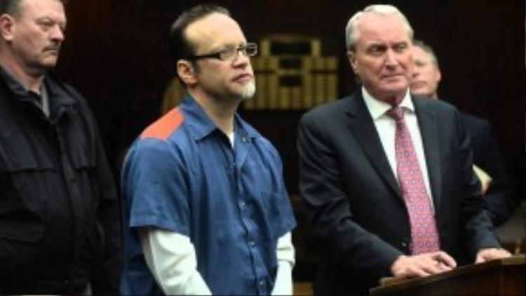 """Khi ra tay """"xử"""" bạn tù dâm ô, Sandison đang thụ án tù chung thân cho tội danh giết người vào năm 1991."""