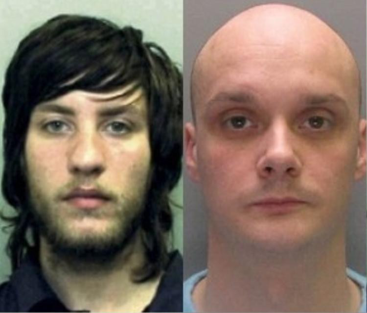 Số phận của Mitchell Harrison (trái) còn thảm hại hơn Xavier khi hắn bị bạn tù Michael Parr (phải) giết chết.