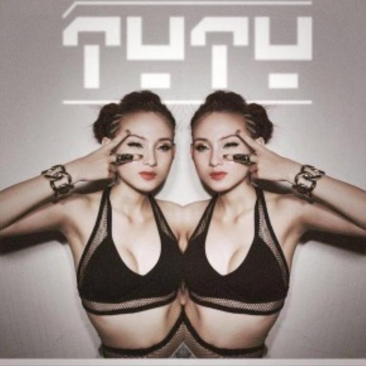 Cuối cùng, nàng DJ TyTy cực nóng bỏng với tông mắt khói, khoe trọn hình thể đẹp trong gu make up sành điệu.