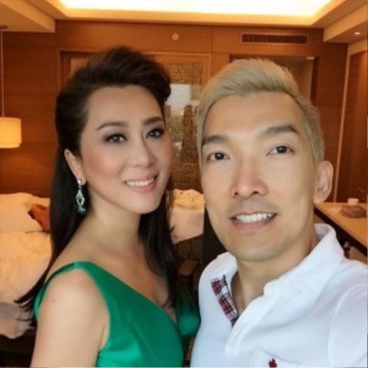 Không chỉ là chuyên gia trang điểm ruột mà Nhật Bình còn là người bạn thân thiết của MC Kỳ Duyên ngoài đời.