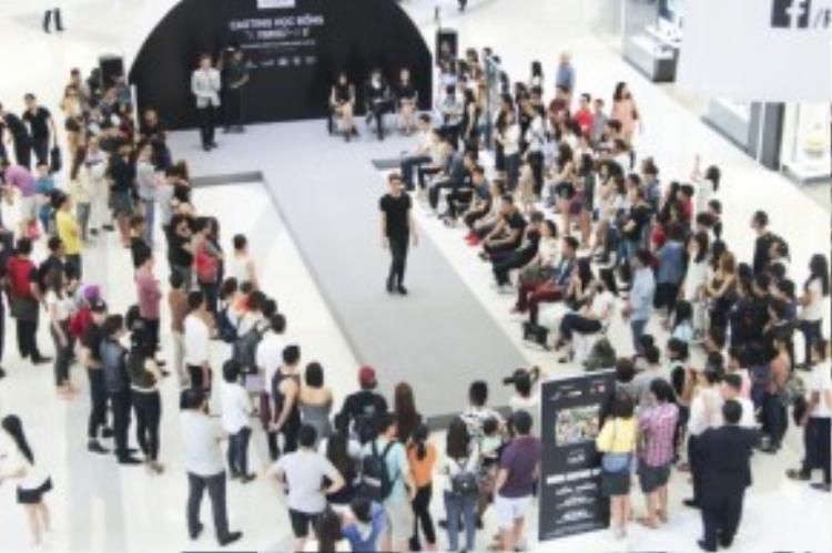 Cuộc thi thu hút sự chú ý của rất nhiều khán giả.