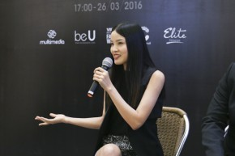 Người mẫu Chà Mi đang ngày càng khẳng định tên tuổi sau khi bước ra từ nhà chung Vietam's Next Top Model 2013.