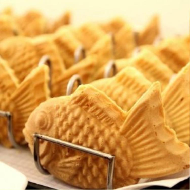 Bánh cá taiyaki rất đáng yêu có mặt tại địa chỉ số 399 Võ Văn Tần.