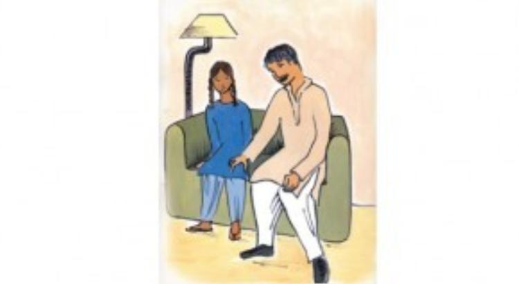 Luôn lợi dụng sơ hở đề tạo va chạm với trẻ.