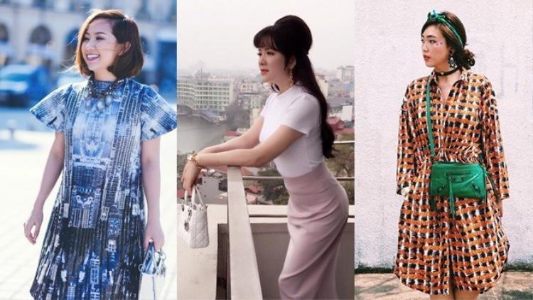 30/3: Sao Việt đồng loạt chơi màu sắc, Lý Nhã Kỳ kiêu kì với trang phục monochrome