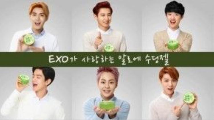 Sản phẩm gel lô hội này dễ dàng sử dụng, tiện lợi,là sản phẩm nổi tiếng nhất của hãng Natural Republic trên toàn Châu Á, với gương mặt đại diện là các chàng trai nhóm EXO.