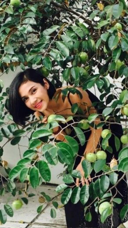 """Giờ đây thứ """"người đẹp Tây Đô"""" trân trọng chính là cuộc sống nhàn tản với cây trái vườn tược."""