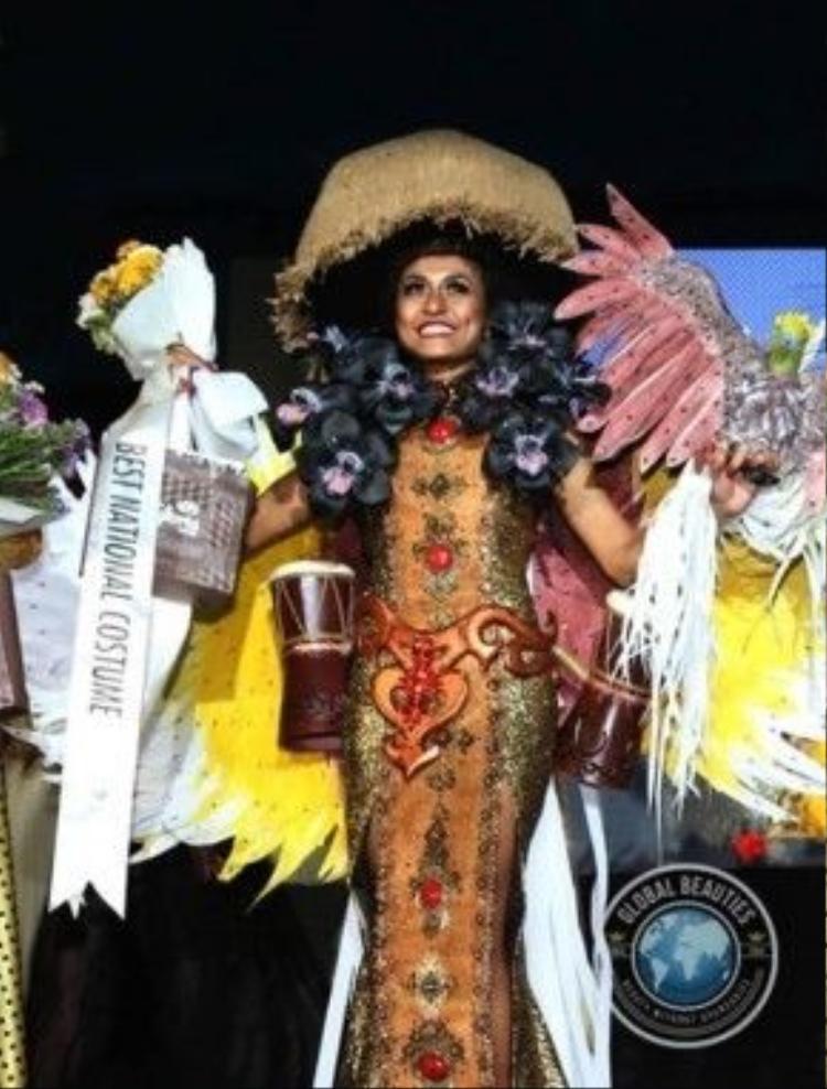 Thí sinh Indonesia là nước đạt giải nhất.