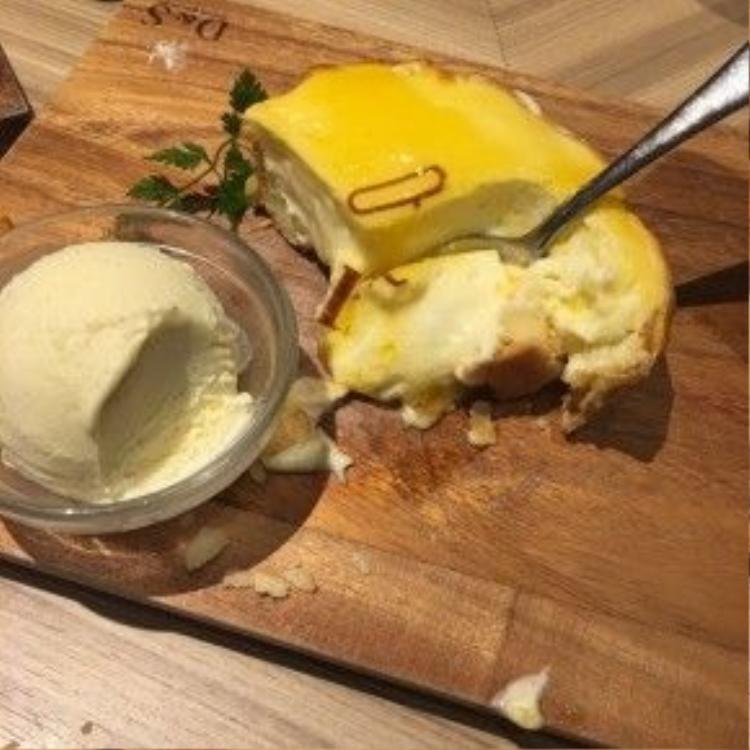 Bánh tart phô mai truyền thống. Ảnh: NVCC