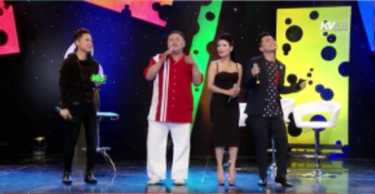 Ca khúc Anh không đẹp trai và phần nhảy hip hop là món quà anh dành tặng cho khán giả tại Mỹ để kết thúc chương trình.