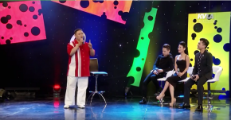 Minh Béo hát tặng chương trình ca khúc Tâm sự anh hề.