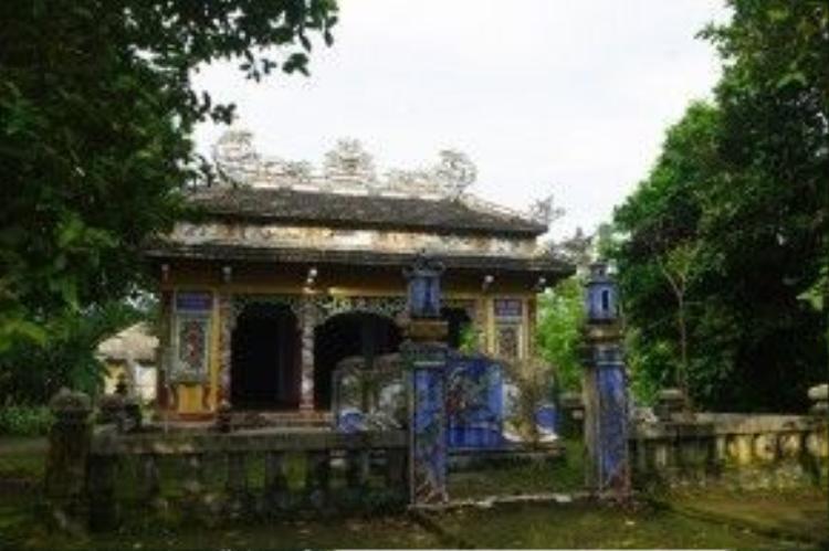 Làng cổ Phước Tích đã được Nhà nước xếp hạng di tích quốc gia. Ảnh: Trần Việt Anh.